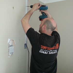 tnt tv flush mount wall installation